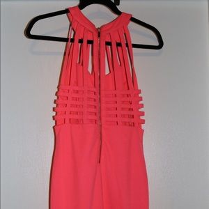 a'gaci Dresses - A'Gaci Coral mini dress